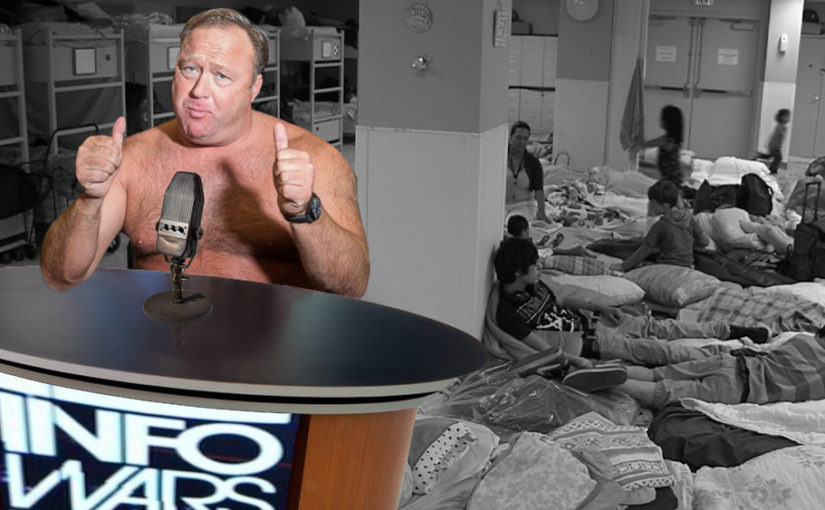Alex Jones Gives Shirt Off His Back To Help Homeless Transgender Youth